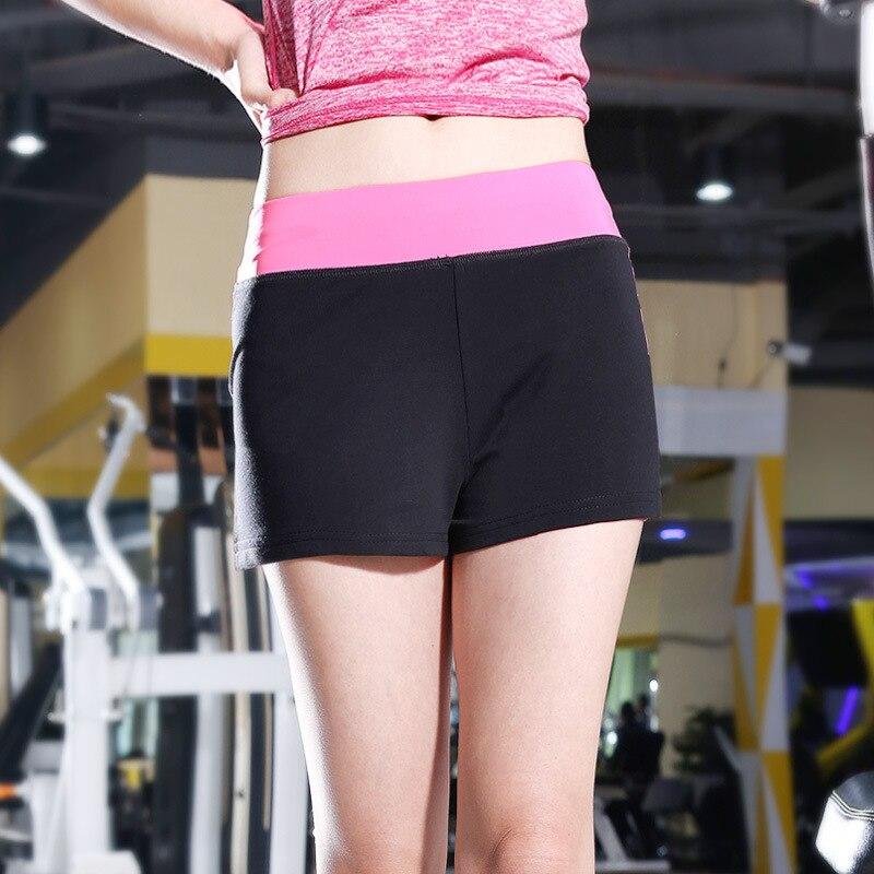 <+>  Yoga Pant Женщины Тренировки Женский Фитнес Бег Шорты Спортивные Шорты Женские Летние Эластичные Тал ①
