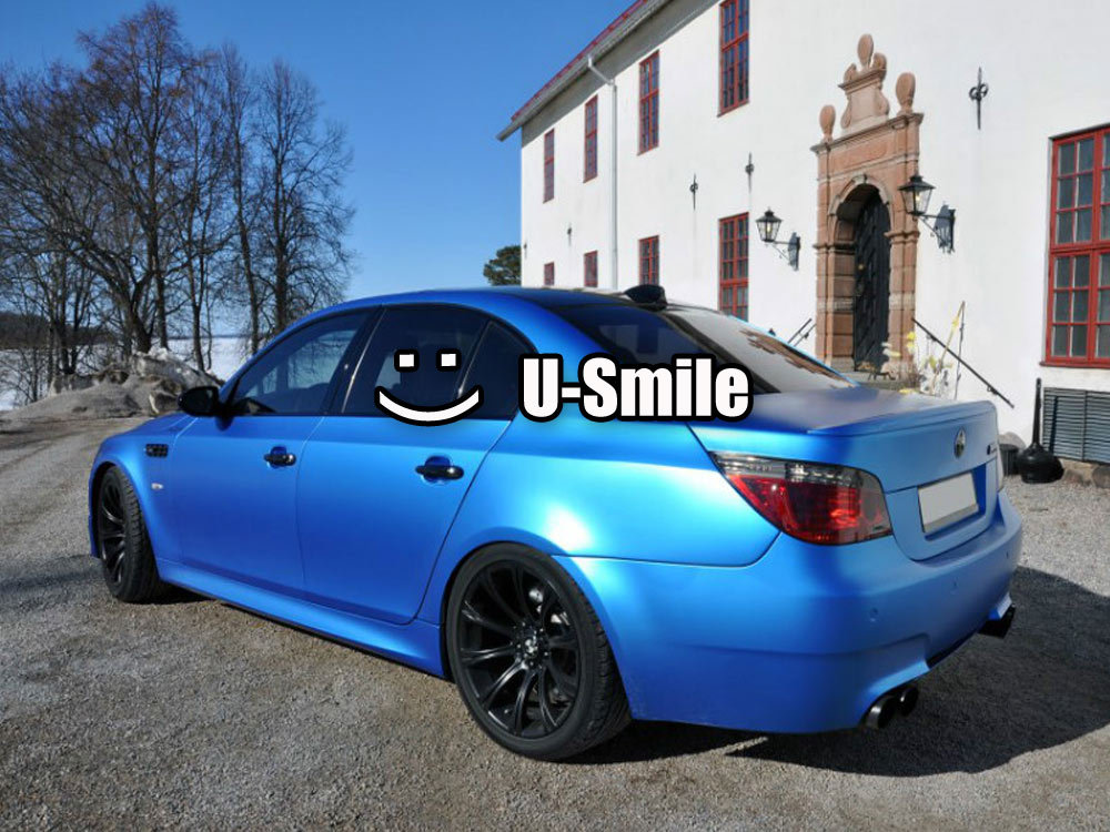 Matte Blue Car >> Us 192 82 20 Off Pearl Blue Matte Vinyl Wrap Matte Pearl Blue Car Wrap Matte Pearl Blue Car Vinyl Film Air Free Car Wrapping Size 1 52m 30m Roll In
