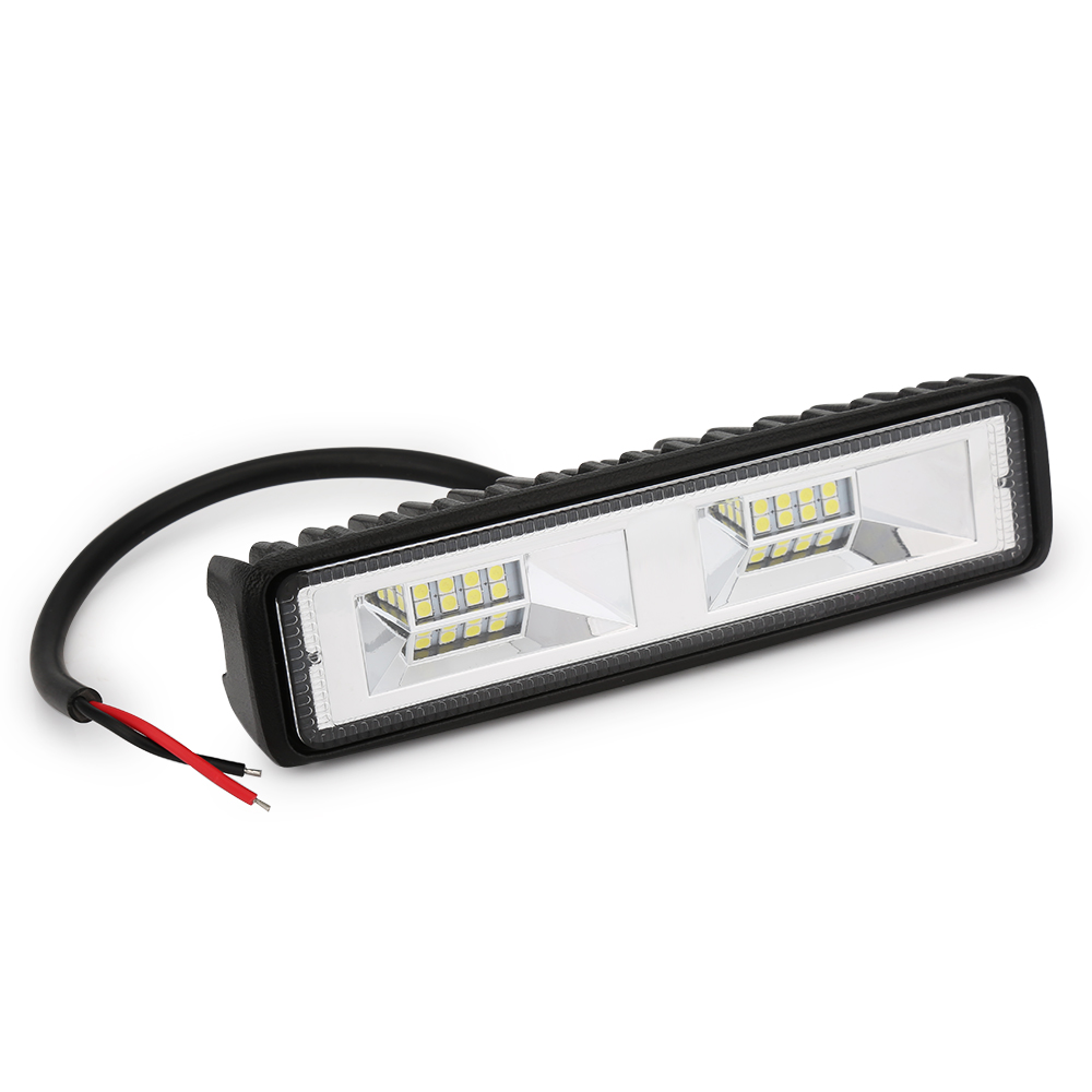 6 inch 18W <font><b>16</b></font> <font><b>LED</b></font> <font><b>Work</b></font> <font><b>Light</b></font> Bar Spot Flood Beam Bar Car SUV OffRoad Driving Fog Lamps Car Styling car accessories image