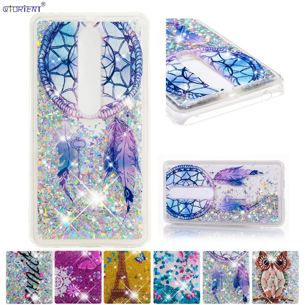 Half-wrapped Case Enthusiastic Glitter Case For Nokia 6.1 6 2018 Bling Quicksand Liquid Phone Cover Nokin6.1 Ta-1068 Ta-1043 1050 Ta-1016 Soft Silicone Funda Sale Price Cellphones & Telecommunications