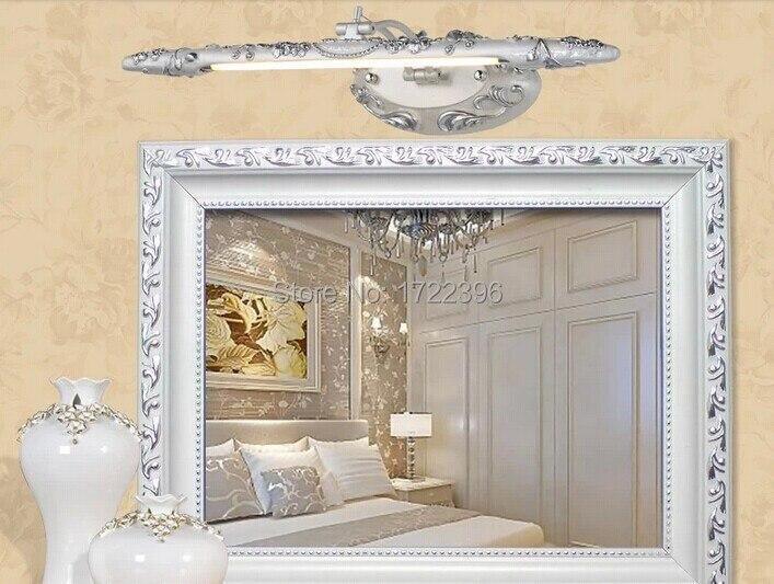 w resina apliques de pared la luz del espejo luz vintage para tocador de bao sala de estar v v bombilla incluidausd piece