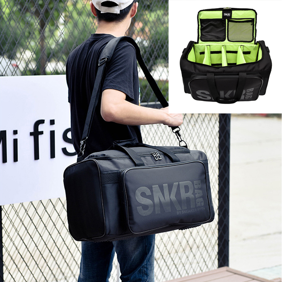 Large Multiple Compartment Sport Training Gym Bags Men Duffel Holdall Waterproof Fitness Travel Holiday Strap Shoulder Bag 55L