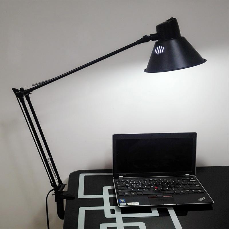 Vusum E27 Folding Lamp Bell Lamp Double Arm Desk Lamp Bedroom Lamp