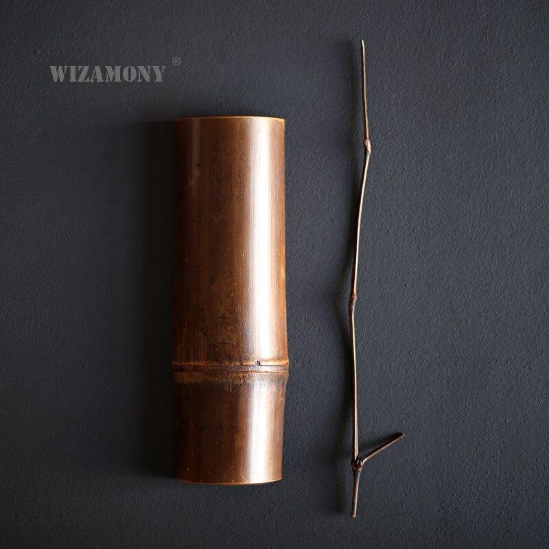 WIZAMONY чисто ручной набор для чая, Бамбуковая чайная ложка, набор игл, китайский кунг-фу, чайные аксессуары, шесть джентльменов