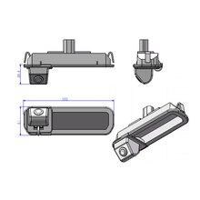 Для Ford Focus Хэтчбек/sedan проводной Беспроводной HD CCD парковка камеры заднего вида магистрали коммутатора стабильное качество от hetida