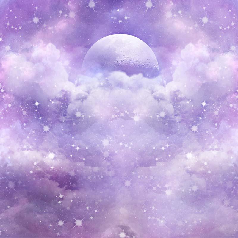 sky glitter star night custom photography background for