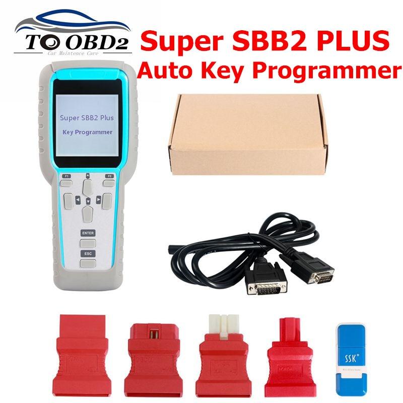 Super SBB2 Plus SBB2 V2019 03 18 OBD V30 18 Auto Key Programmer handheld device for