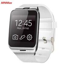 GV18 Date NFC Montre Smart Watch 1.55 «Bluetooth SmartWatch Téléphone soutien NFC 1.3MP Cam Sync Appel SMS pour Samsung Android PK DZ09