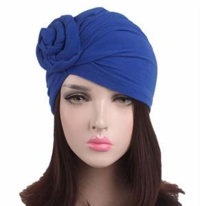 Image 3 - 여성 인도 매듭 보닛 케모 캡 터번 모자 비니 헤드 스카프 랩 라마단 탈모 이슬람 모자를 쓰고 있죠 모자