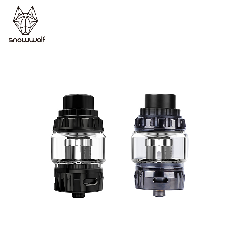 newest design atomizer of electronic cigarette 510 thread for vape kit original sigelei Snowwolf Wolf Tank for mfeng vape KIT