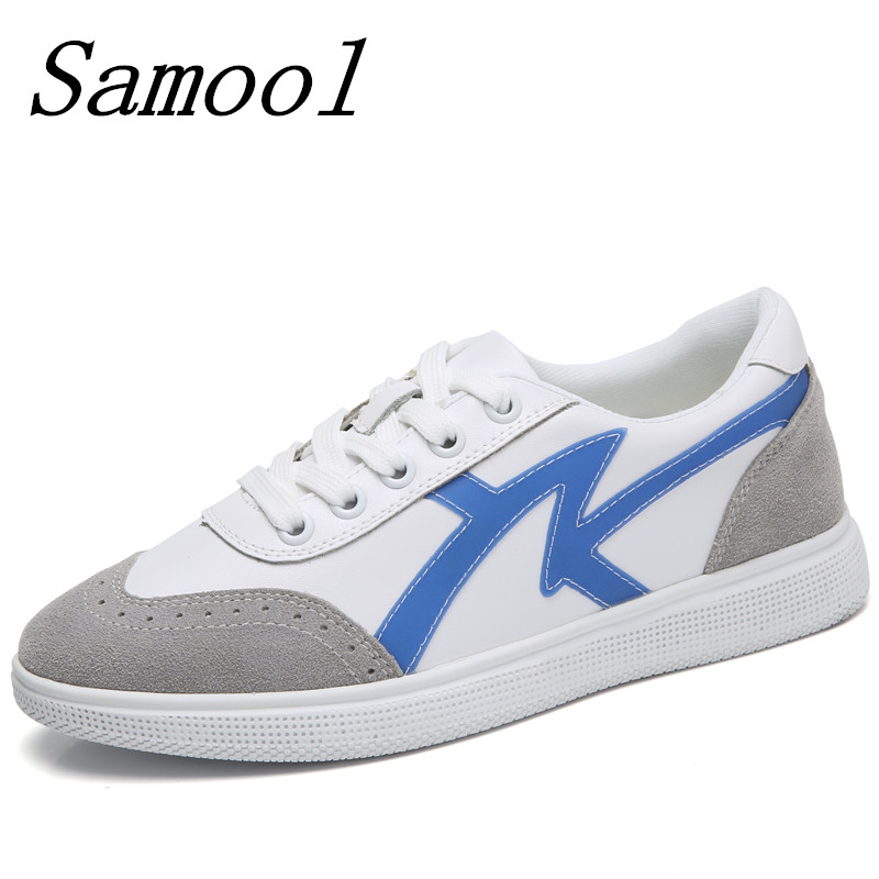 2018 Spring woman casual sneakers shoes lace up suede leather moccasins boat shoes women leisure platform flats shoes jx3 glowing sneakers usb charging shoes lights up colorful led kids luminous sneakers glowing sneakers black led shoes for boys