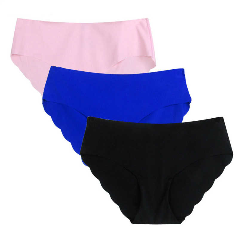 cd123193caf ... Women's Seamless Sexy Ultra-thin Briefs For New Low-waist Breathable panties  Underwear Intimates ...