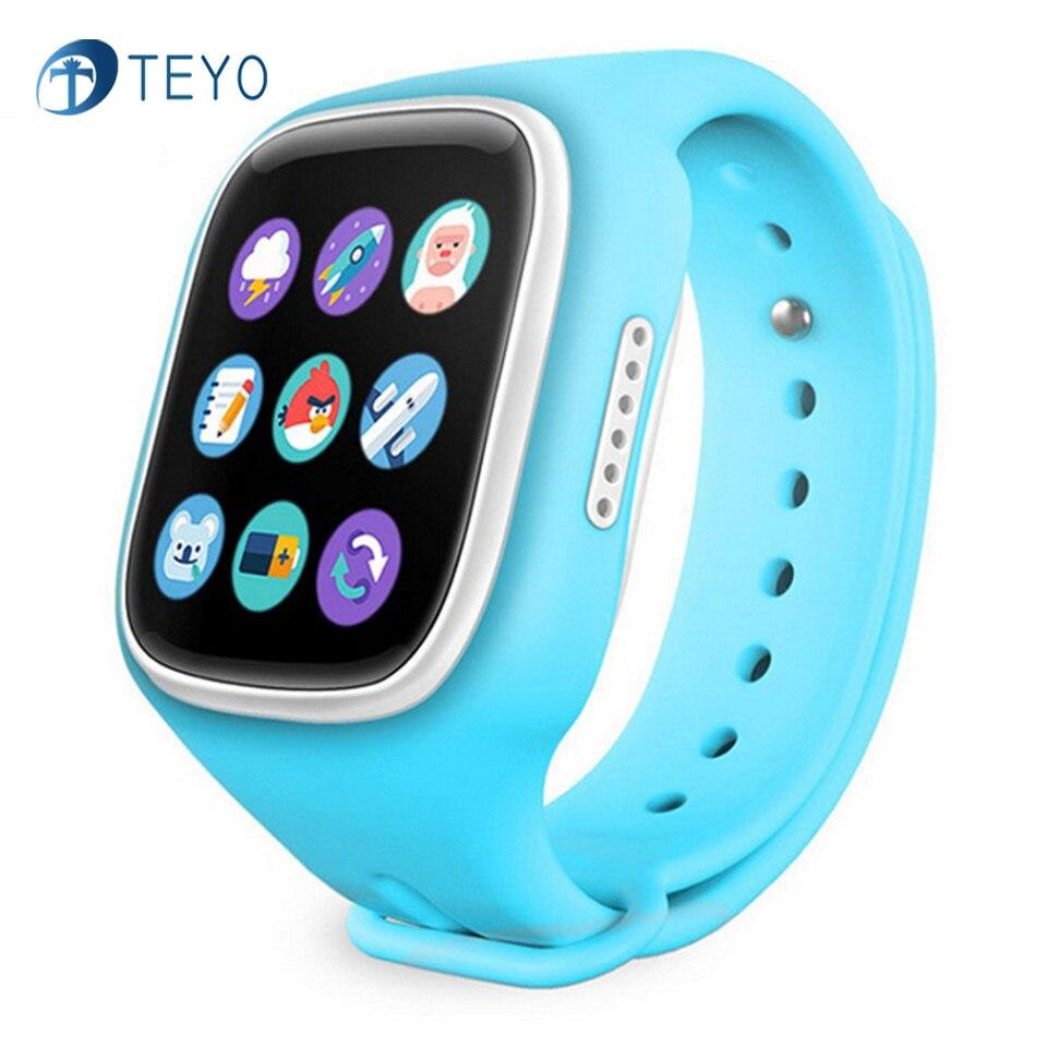 imágenes para Teyo Nuevo Reloj Inteligente A6 Regalo de Los Niños GPS Tracker Con SOS botón de Alarma Perdida Anti Bebé Impermeable Reloj Para Android IOS teléfono