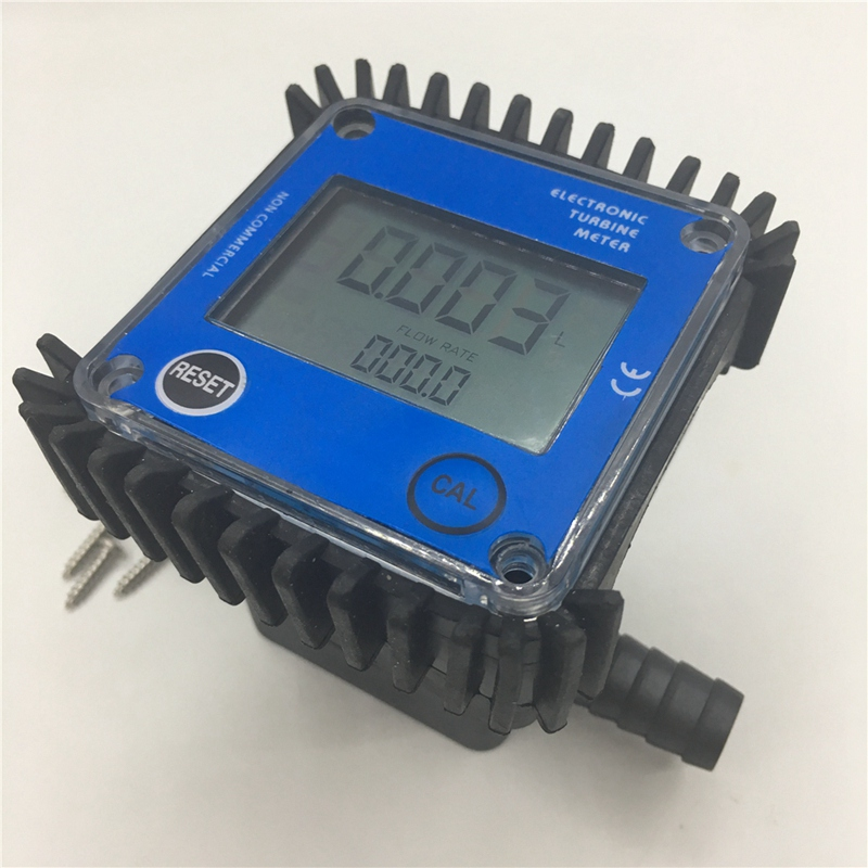 Débitmètre de capteur de Turbine liquide d'huile d'eau en plastique de la taille K24 de Smalle d'ajustement rapide