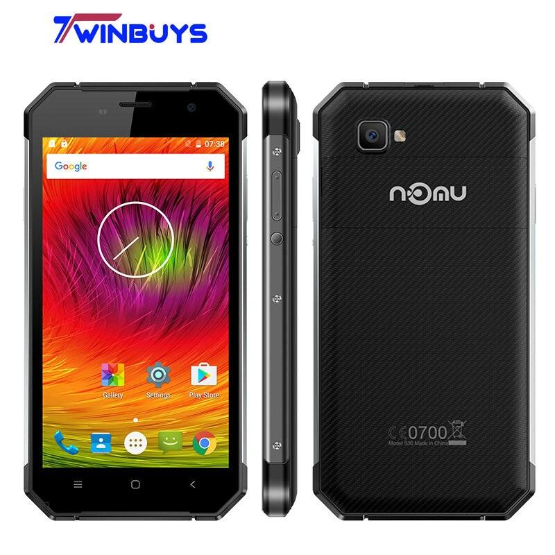 """Цена за НОМУ S30 IP68 Водонепроницаемый Противоударный 4 Г Смартфон 5000 мАч 5.5 """"MTK6755 Окта основные Android 6.0 2.0 ГГЦ 4 ГБ + 64 ГБ 16MP Мобильный Телефон"""