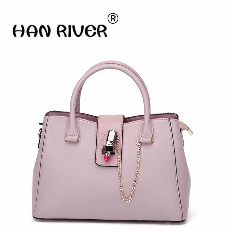 The new women's bag, European and American fashion ladies' handbag, shoulder bag, leather cover