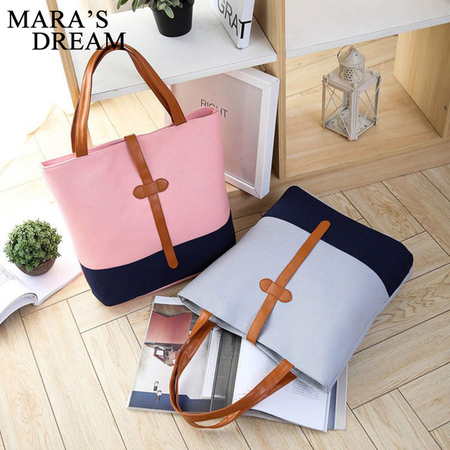 Handbags Women Bags Handbags High Quality Canvas Casual Tote Bags Shoulder Bags Women Top-handle Bag 3