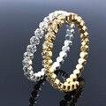 Hot Sale Free Shipping Fashion Women Female Jewelry CZ Diamond Crystal  Bangles Cuff Bracelets High Quality Pulseiras