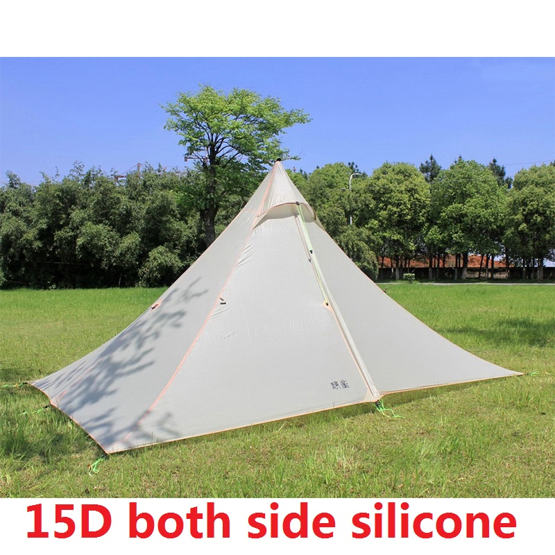 1-2 Person Lightweight Camping Tent Outdoor Hiking Backpacking Hunting Ultralight Waterproof Tents high quality outdoor 2 person camping tent double layer aluminum rod ultralight tent with snow skirt oneroad windsnow 2 plus
