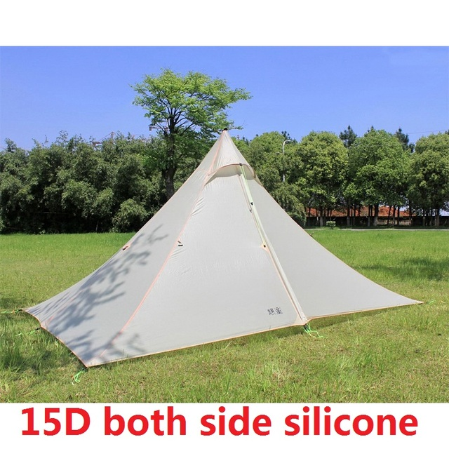 1-2 Person Lightweight C&ing Tent Outdoor Hiking Backpacking Hunting Ultralight Waterproof Tents & 1 2 Person Lightweight Camping Tent Outdoor Hiking Backpacking ...