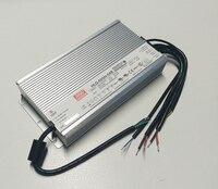 Оригинал Mean Well 600 Вт один Выход IP67 постоянный ток/Напряжение светодиодный драйвер Импульсные блоки питания с PFC hlg 600h
