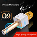 Q9 Wireless Bluetooth Karaoke Microphone Mini Speaker Home KTV Stereo USB Player Support mobile USB Disk #EW