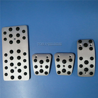 FREE SHIPPING Accelerator Gas Brake Foot Rest AT MT Pedal Pads For Hyundai Sonata 2006 2008