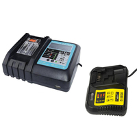 DC18RC Li ion Battery Charger with USB Charging Ports Dispaly DCB112 Lithium Charger Power Tool Adapter for Dewei DeWalt 12 20V