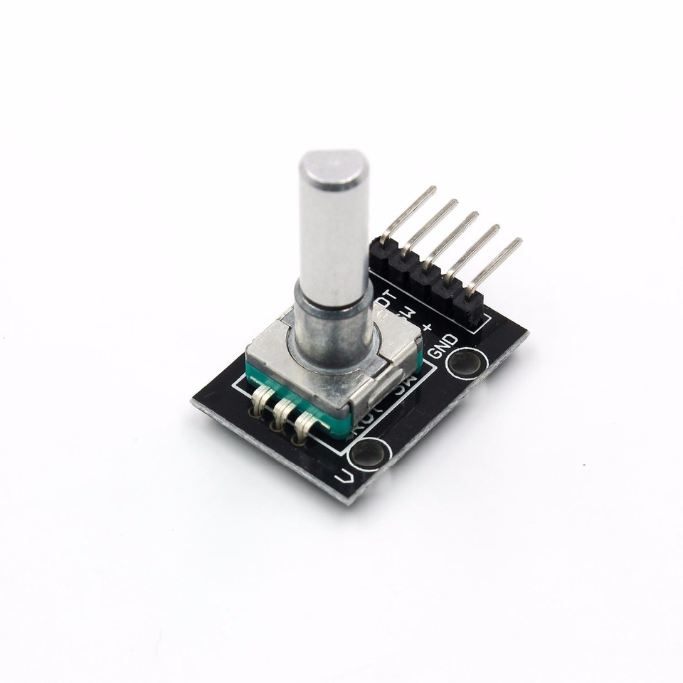 Cvmnkljfge Keyes 360 Degree Rotary Encoder Control Module Electronic Building Block for Arduino Micro Bit for Arduino / Starter / Kit