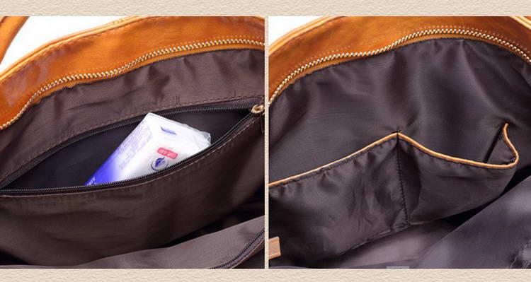 Women Oil Wax Leather Designer Handbags High Quality Shoulder Bags Ladies Handbags Fashion brand PU leather women bags WLHB1398 23