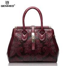 New Arrival Famous Brand Design Fashion Womens Handbags 2019 Women Genuine Leather Vintage Bags Ladies Handbag Bolsa Feminina
