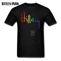 Printing On T Shirts LGBT For Hillary Youth Organnic Cotton Short Sleeve T Shirt Custom Mens