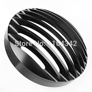 """Image 2 - 5 3/4"""" Billet Aluminum Front Motorcycle Headlight Grille Cover for Harley Davidson Sportster XL 1200 883 04~14 Head Light Cover"""