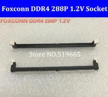 Foxconn DDR4 288 P 1.2 V 288 pin Konnektörler Dizüstü Bellek Yuvası Soket 277PIN