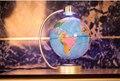 8 polegada Eletrônico Levitação Magnética Flutuante Globo Mapa Do Mundo Inglês do Globo Da Terra com Luz LED Decoração Da Sua Casa