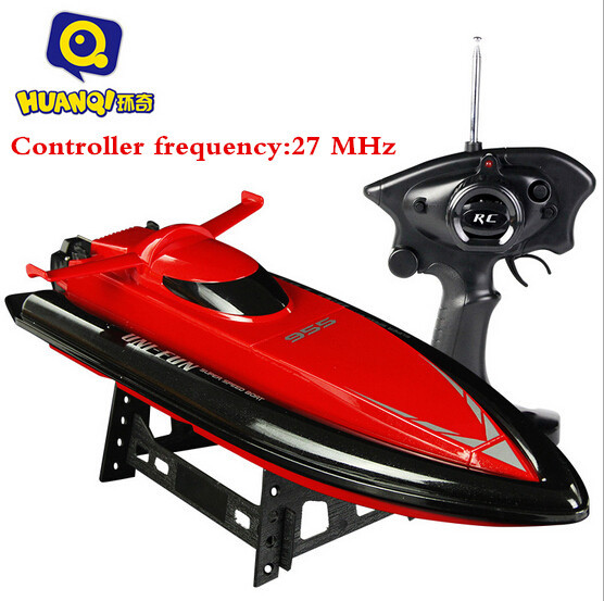 2016 Venta Caliente Nueva 47 cm barco DEL RC gran escala rc dirigible 2.4G RC Radio Remote Control Racing RTR Barco Lancha Juguetes VS FT012