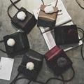 Simple Leather Mini Small Women Fringed Crossbody bag Messenger Shoulder Bag Sling Purse Lady Handbag