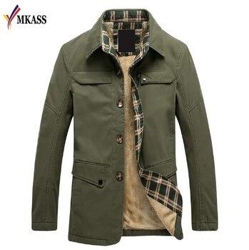 2018 Men's Winter Jacket Fashion Windbreaker Quality Military Waterproof Men Jacket Coat Brand Clothing Army Casaco Masculino