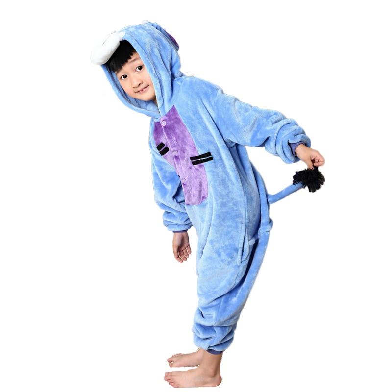 Baby Boys Qızlar Pijamalar Payız Qış Uşaqları Flanel İsti - Uşaq geyimləri - Fotoqrafiya 3