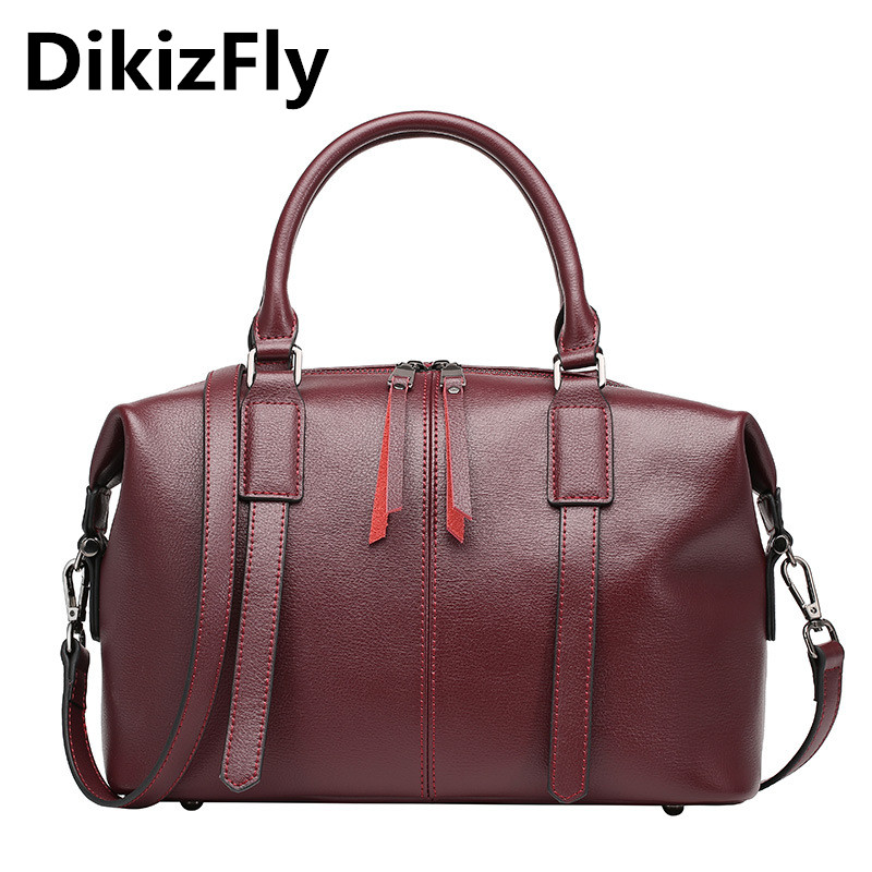 DikizFly Genuine leather bag dollar price luxury handbags women bags famous brands designer vintage handbags messenger bags 2018