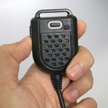 مكبر صوت صغير LED بميكروفون لراديو كينوود TYT F8 BAOFENG UV5R Retevis جهاز لاسلكي محمول ملحقات الميكروفون