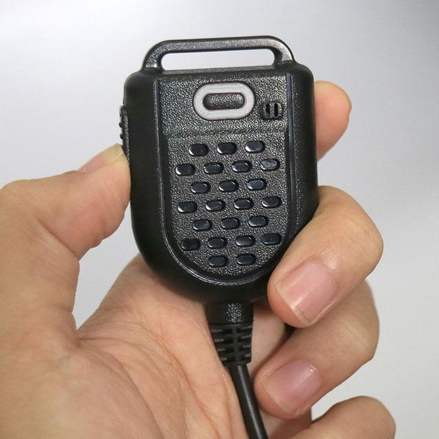 Mini LED Shoulder Speaker Mic For KENWOOD TYT F8 BAOFENG UV5R Retevis Radio Handheld Walkie Talkie Microphone Accessories