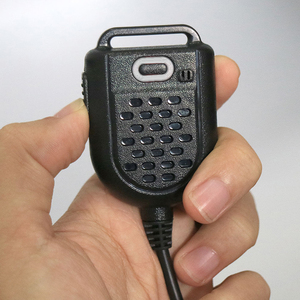 Image 1 - 미니 led 어깨 스피커 마이크 kenwood tyt f8 baofeng uv5r retevis 라디오 핸드 헬드 워키 토키 마이크 액세서리
