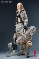 VERYCOOL VCF-2030 1/6 Digital Camouflage Female Soldier Max Action Figure Model