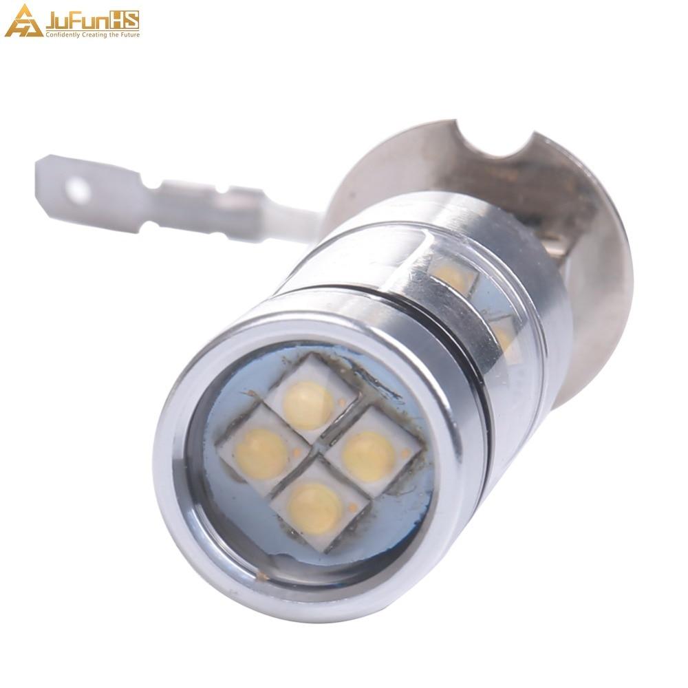 H3 100W meglenke, bela 6500K 12V avtomobilska LED žarnica, leče - Avtomobilske luči - Fotografija 4