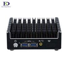 Промышленные безвентиляторный мини-ПК Intel NUC HTPC core i5-5200U i7 5500U Процессор Windows10 мини-компьютер с 1 * Mini DP HDMI LAN vesa неттоп