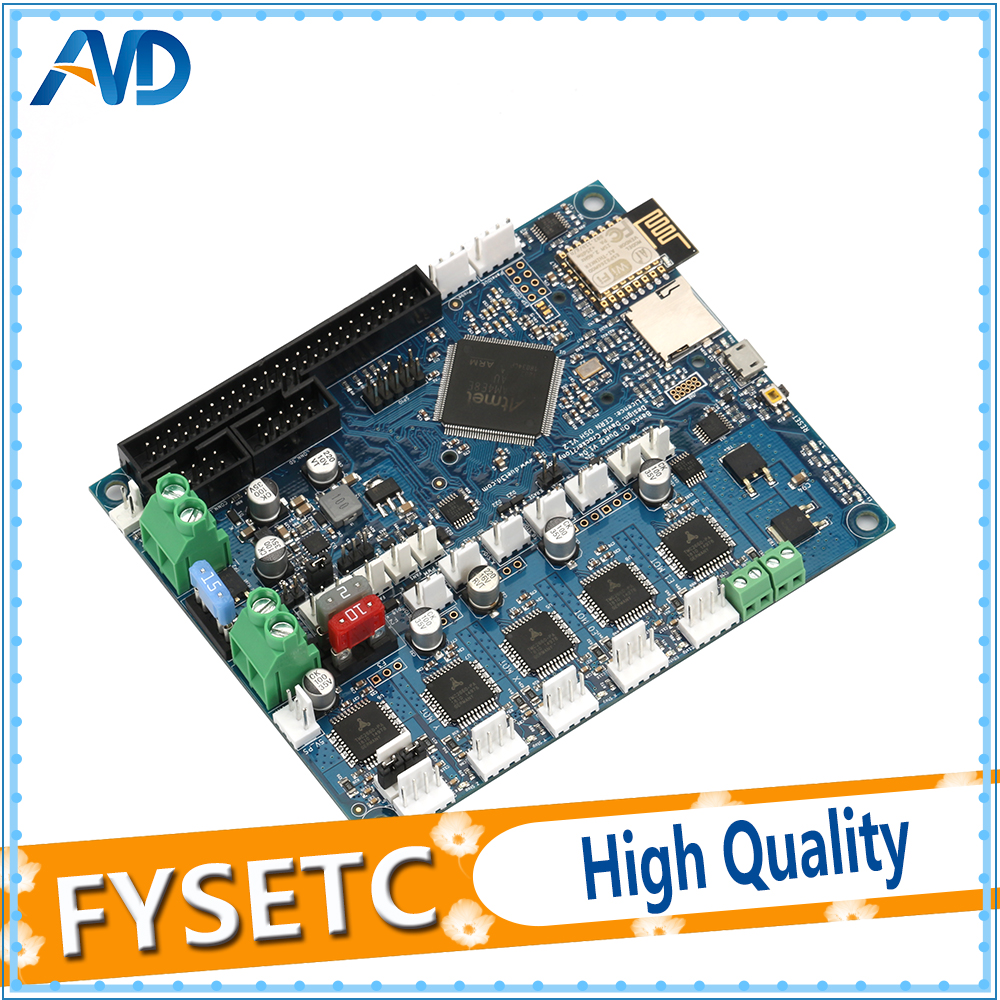 Cloned Duet 2 Wifi V1 04 Upgrades Controller Board DuetWifi Advanced 32bit Motherboard For BLV MGN