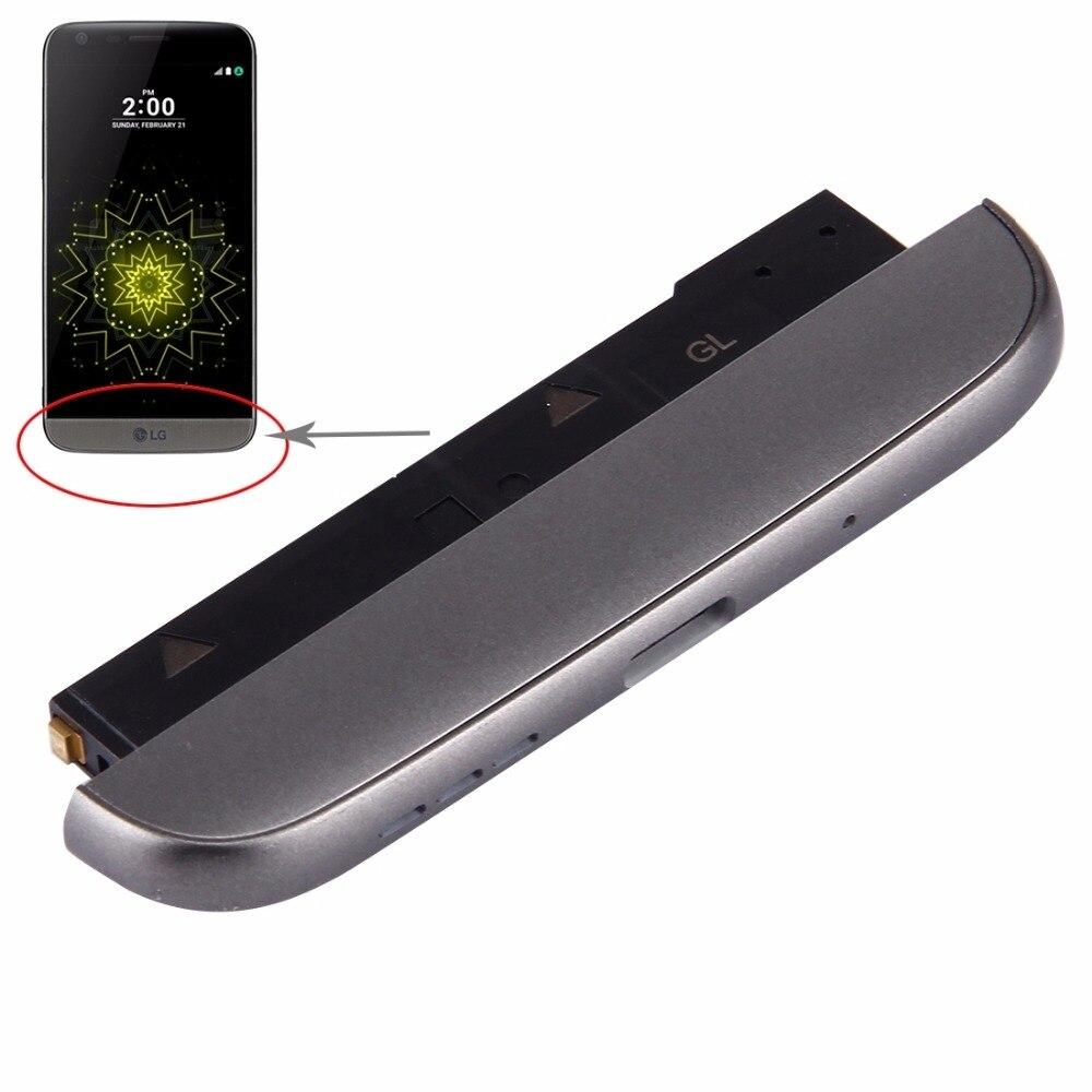 Parte inferior (de muelle de carga + + Micrófono Altavoz timbre zumbador) para LG G5/VS987... h840/H850... F700S/F700K/F700L... LS992