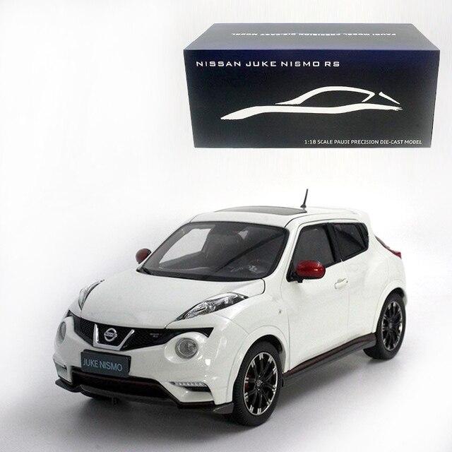 1:18 Diecast Modelo Para Nissan Juke Nismo RS 2014 Branco Da Liga Do Carro