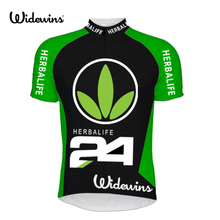 Summer Short Sleeve Cycling Jersey Herbalife 24 MTB Bike Bicycle Shirt Outdoor Sportswear Clothing Green 5761 цена